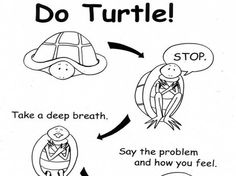 """""""Turtle"""" is a technique used in the Preschool PATHs curriculum to help students learn to calm down."""