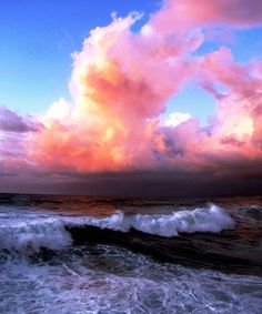 cotton candy sky #photography #sea #nature