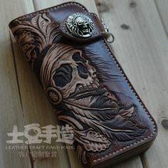Indian Skull Wallet...love it!!
