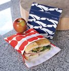 LunchSkins Sandwich Baggie   A bag that you don't toss—wash in the dishwasher and reuse! $8.98