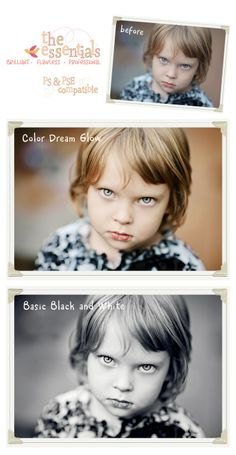 photoshop elements actions - I have to read this site!