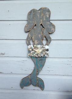 Mermaid Wall Art/Beach House Wall Art/Boho Beach ~by My Honeypickles