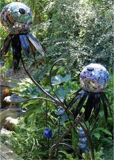 Mosaic Garden Art -redo on a smaller scale?