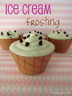 Ice Cream Buttercream Frosting!!! {You Can Make This In Any Ice-Cream Flavor You Like!}
