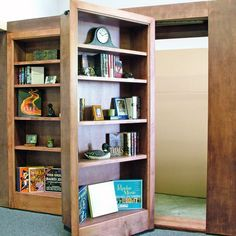 Hidden Room Behind Bookcase Door