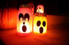 jar candl, flight, masons, fanci, crafti craft, halloween mason, mason jars, holiday craft, jar luminari