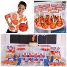 Basketball Party Ideas #basketball #partyideas themed birthday parties, basketbal theme, basketball birthday, basketball party, boy birthday ideas basketball, 1st birthdays, parti idea, themed parties, basketbal parti