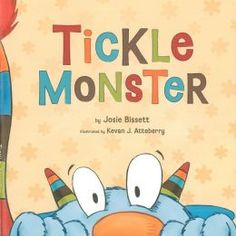 Tickle Monster by Josie Bissett. Follow the link and scroll through the Barnes & Noble  videos. http://www.barnesandnoble.com/u/online-storytime-books-toys/379003588