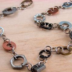 DIY Hardware necklace