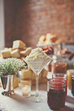 grits and cornbread bar #highcotton #southernweddings