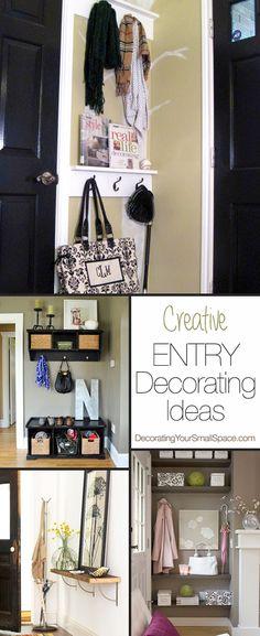 entri decor, diy small apartment ideas, small apartment decorating diy, diy entri, small entri