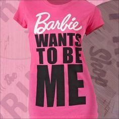 Barbie girl. Barbie world. #GraphicTees #Kohls