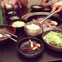 Korean BBQ in nyc
