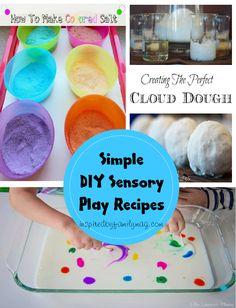 simple diy sensory play recipes