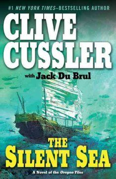 clive cussler, silent sea, green cover, read 2014, adult display