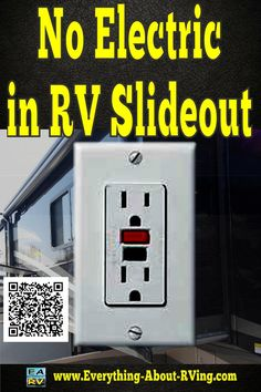Here is our answer to: No electric in RV slideout,  The only thing that you did not mention was if you checked all of the...  Read More: http://www.everything-about-rving.com/the-lights-and-electric-outlets-are-not-working-in-my-rvs-slide-out-room.html HAPPY RVING! #rving #rv #camping #leisure #outdoors #rver #motorhome #travel