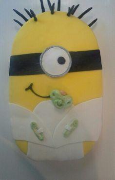 Minion Baby baby shower cake