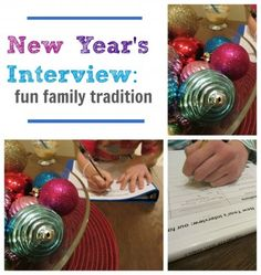 New Year's Interview: Fun Family Tradition from Teach Mama