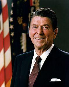 President Reagan, great American...