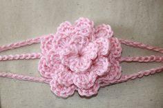 Handmade Crochet Spring Headband by AllinStitchesForYou on Etsy, $10.00