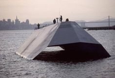 NEW - TOP SECRET NAVY STEALTH WATERCRAFT - BOW