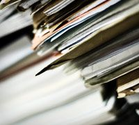 Organizing important documents and document retention