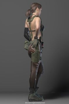 Quiet 3D character model released