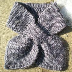 La Mercerie du Faubourg aime ce tuto tricot écharpe feuille