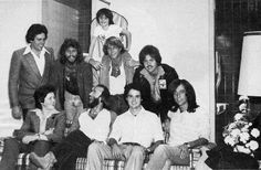 Alan, Merrill, Donny & Jimmy Osmond with Barry, Robin, Maurice, & Andy Gibb in 1979