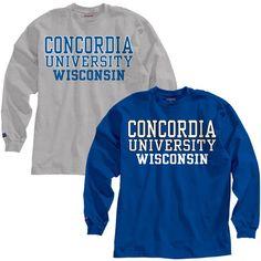 Product: Concordia University Wisconsin Long Sleeve T-Shirt $21.95