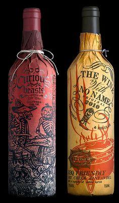 STRANGER & STRANGER: WINE PACKAGING