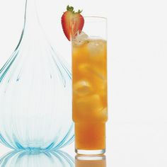 Strawberry-Ginger Cooler // More Nonalcoholic Drinks: http://www.foodandwine.com/slideshows/nonalcoholic-drinks #foodandwine