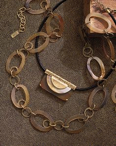 Eclipse Necklace | Jewelry by Silpada Designs...From our new K&R Collection.