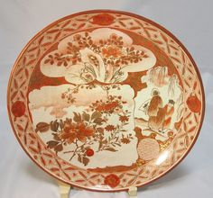 19th century Kutani plate