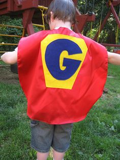 Kids' Superhero Cape : Decorating : Home & Garden Television