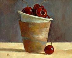 Barbara Richardson Five Cherries 21st century