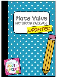 Place Value Notebook Package from frogsandcupcakes on TeachersNotebook.com -  (34 pages)  - Place Value Interactive Math Notebook Package from ones to billions
