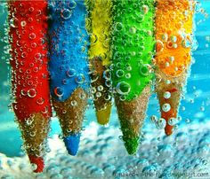 Watercolors. literally.
