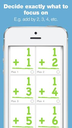 Bitsboard Math - Cool Math Games For Kids ($0.00)   • pre-loaded with custom math boards to master multiplication, addition, subtraction, and division •  pre-loaded with custom boards for each unique set of numbers (whether you want to learn adding by 2 or multiply by 4). •  easy to customize so you can easily add multiple users and decide exactly what games and content to make available for each user •  easily create your own custom math lessons and share them with others kid