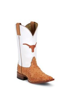 Women's Texas Cognac Full Quill Ostrich Boot