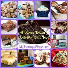 A Bakers Dozen – Desserts You'll Love