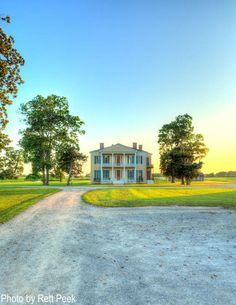 The Lakeport Plantation house, built in 1859, is the only remaining Arkansas antebellum plantation home on the Mississippi River.