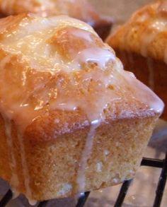Lemon Pound Cake #recipe (made as miniatures for gifting)