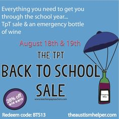Time for some Back to School Essentials from theautismhelper.com!