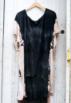 AllSaints DIY dress bleach dye diy, saint dress, cloth crafti, diy dress, all saints dress, dresses, diy cloth, bleach dress, diy bleach