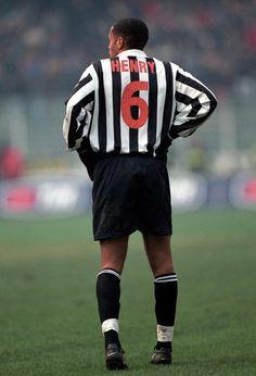 Legendary striker Thierry Henry at Juventus.