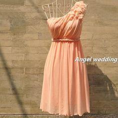Custom vintage Bridesmaid dress in orange or navy?