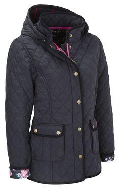 Vedoneire - Womens Quilted Jacket (5038) Navy, £84.99  #Vedoneire #Fashion #Womenswear #Ireland #Irish #Irishbrands #SS14 #Apparel (http://www.vedoneire.co.uk/womens-quilted-jacket-5038-navy/)