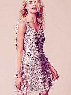 Free People Clothing Boutique > Shimmy Party Dress  I want this