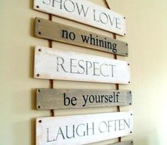 Awesome DIY wooden signs